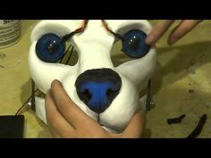 ▶ Part 3- adding eyes and eyelids to your resin blank - YouTube