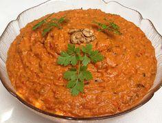 Muhammara - syrische Vorspeise, ein sehr leckeres Rezept aus der Kategorie Kalt. Bewertungen: 28. Durchschnitt: Ø 4,2.