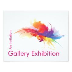 66 best invitation ideas images on pinterest art exhibitions art exhibition invites samples google search stopboris Choice Image