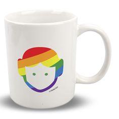 """#Taza #Gay #Leia con frase: """"Preferiría besar a un wookiee!"""" Este y más producto en http://www.togayther.es/producto/taza-gay-leia/"""