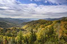 Where else can you find a view like this? You can't :) Time for a trip to the Smokies!