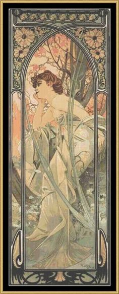 The official site of the Mucha Foundation. A comprehensive resource for information on Alphonse Mucha (or Alfons Mucha) with details on his life, the Mucha Trust Collection, news, exhibitions, events and publications. Mucha Art Nouveau, Alphonse Mucha Art, Art Nouveau Poster, Art Nouveau Illustration, Design Art Nouveau, Jugendstil Design, Kunst Poster, Poster Art, Art Posters