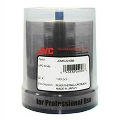 100 JVC Taiyo Yuden 8X DVD-R 4.7GB Silver Thermal Lacquer by Taiyo Yuden. $36.43. These JVC Taiyo Yuden 4.7GB General Purpose DVD-R are for data and video and come on 50 disc spindle. These disc are compatible with DVD-R burners that use DVD-R media for general purpose. These DVD-R's are are very high quality and reliable. Media Type: DVD-R Native Capacity: 4.7 GB / 120 Minutes Video Format: DVD-R General Purpose (8x) Remarks: JVC Taiyo Yuden DVD-R with Shiny Silver on 100...