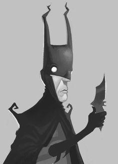 DC Black and White Character Portraits by Michael Myers, via Behance Comic Book Characters, Marvel Characters, Comic Books Art, Comic Art, Im Batman, Batman Art, Batman Cartoon, Batwoman, Batgirl