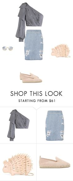 """Untitled #17491"" by explorer-14576312872 ❤ liked on Polyvore featuring Zimmermann, IRO, Kate Spade, ALDO and Ray-Ban"