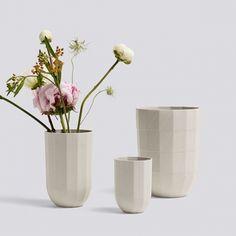 Hay Paper Porcelain vase, M | Paper Porcelain | Vases | Decoration | Finnish Design Shop