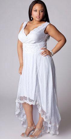 Fresh A cute hi low destination wedding dress
