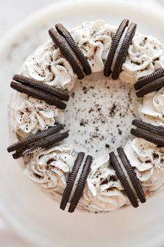 Oreo Cake, Oreo Cookies, Yummy Cookies, Chocolate Chip Cookies, Vanilla Buttermilk Cake, Buttermilk Cookies, Cookies And Cream Cake, Cake With Cream Cheese, Round Cake Pans
