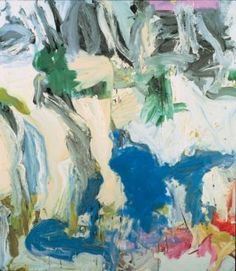 Willem de Kooning — Two trees on Mary Street … Amen!, 1975, Willem de...