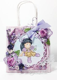 Magnolia Bag by lollydollycrafts - Cards and Paper Crafts at Splitcoaststampers