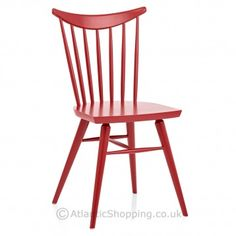 The Celine Wooden Painted Chair Red has now been discontinued.