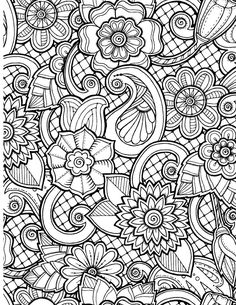 Most everyone loves to get flowers sometimes and coloring them is a ton of fun. These beautiful floral designs will spark your imagination as you choose your co