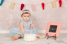 Newborn, Baby, Child Pink Lace Crown - Halo Headband - Birthday Crown and Photography Prop