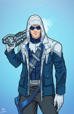 Captain Cold (Earth-27) commission by phil-cho.deviantart.com on @DeviantArt
