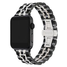 Stainless Steel Watchband For Iwatch Apple Watch Series 1 2 3 4 Band Wrist Strap Bracelet Black Rose Gold Silver Best Apple Watch, Apple Watch Bands, Quartz Watch, Watches For Men, Fine Watches, Men's Watches, Black Silver, Rose Gold, Series 4