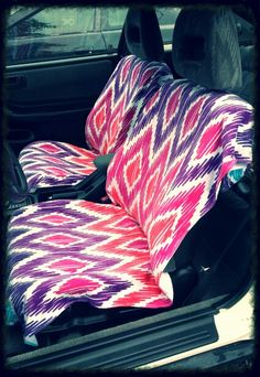 Simple Car Seat Covers Buy Beach Towels Lay Them On Your And Mark