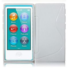 Do you get  new iPod Nano 7?Do you want to protect it?Let's make difference for your iPod with this Tai Chi S Line Tpu/ White silicone case!