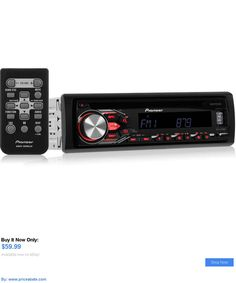 Vehicle Electronics And GPS: New! Pioneer Deh-X2800ui In-Dash Cd/Am/Fm Car Stereo W/ Smartphone Controls BUY IT NOW ONLY: $59.99 #priceabateVehicleElectronicsAndGPS OR #priceabate
