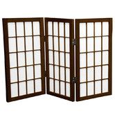 "Found it at Wayfair - 26"" x 30"" Window Pane Shoji 3 Panel Room Divider"