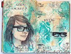 Jurnal Art- New Glasses  To see more go to my blog : http://aditu-art-gallery.blogspot.de/2015/04/jurnal-art-new-glasses.html or Paperbasic Blog :http://paperbasics.blogspot.de/2015/04/journal-art-neue-brille.html