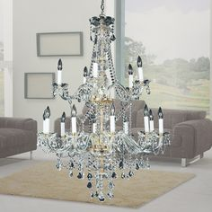 Crystal Palace 550 Chandelier Collection SKU: 550AD3LSP  WWW.GLOWLIGHTING.COM  #chandelier #semiflush #flushmounts #homedecor #lamps #lighting #spring2016collection #pendants #Antique #modernluxury #luxury #classic #crystal #livingroom #dining #contemporary #traditional #oldworld
