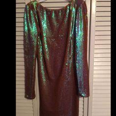 Sequin Dress - Nasty Gal