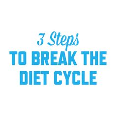 Break the Diet Cycle: 3 Steps to Take Right Now – Steph Gaudreau Fast Weight Loss Plan, How To Lose Weight Fast, Stupid Easy Paleo, Negative Calorie Diet, Plus Fitness, Paleo For Beginners, 1200 Calorie Diet, Paleo Life, Medical Weight Loss