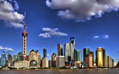 Pudong skyline (Shanghai - China).