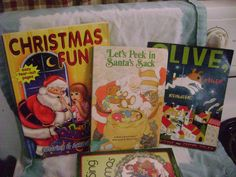 Children's Christmas Book Lot Coloring Activity Board Book Wee Sing
