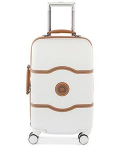 "Delsey Chatelet Plus 21"" Carry-On Hardside Spinner Suitcase 