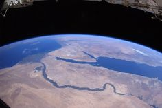 The Nile and Egypt seen from space
