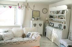 Roosaa ja valkeaa Bench, Living Room, Storage, Furniture, Home Decor, Purse Storage, Decoration Home, Room Decor, Larger