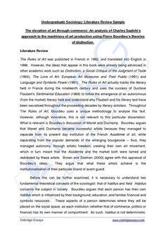 Critical Literature Review Literature Review Pinterest