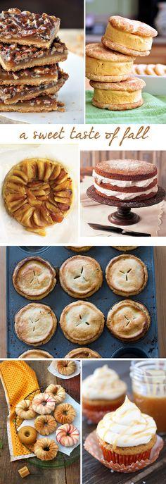 The Fall Desserts I'd Like to Make…