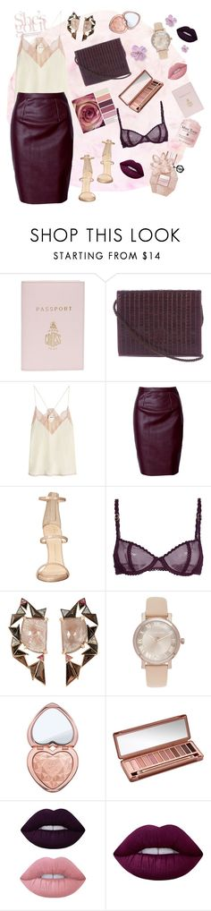 """""""She's got blossom"""" by banuozturk ❤ liked on Polyvore featuring Mark Cross, Fendi, Zadig & Voltaire, Giuseppe Zanotti, STELLA McCARTNEY, Nak Armstrong, Michael Kors, Too Faced Cosmetics, Urban Decay and Lime Crime"""