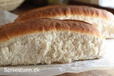 Sigtebrød - to use up rye Bread Recipes, Baking Recipes, Bread Bun, Bread Baking, Bread Food, Hot Dog Buns, Deserts, Food And Drink, Low Carb