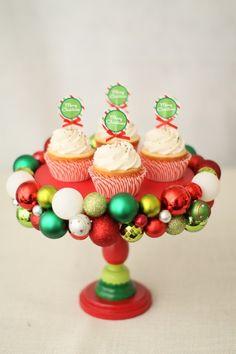 DIY Ornament Cake Stand