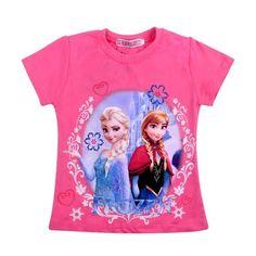 Frozen Pink Elsa & Anna Top – Aaliyah's Boutique