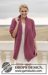 Project Cake Sweater choice: Maybellene no.9, aran, 3-quarter sleeves, tunic-length, shawl drape