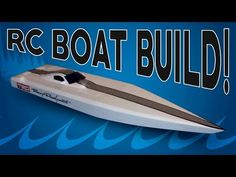 Homemade RC Speed boat build