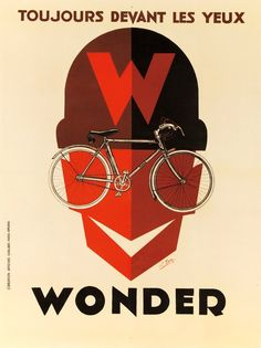 Georges Favre poster for Wonder bicycles