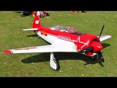 Citabria 4 Channel Large Nitro Rc Plane Kit More Rc
