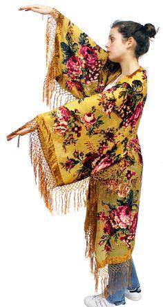 kaftán devore, kimonos, blusones Julunggul www.julunggul.com