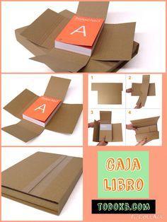Book Packaging, Pamplona, Container, Stamp, Ideas, Design, Craft Packaging, Journals, Store