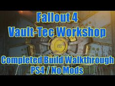My completed Vault 88 build (PS4/no mods) #Fallout4 #gaming #Fallout #Bethesda #games #PS4share #PS4 #FO4