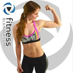 """Cardio machines (the treadmill, the elliptical, etc) might be the first thing that comes to mind when a person thinks of burning fat or """"cardio training"""", but the truth is that bodyweight workouts like this one are far superior to any machine you'll find at the gym when it comes to building a fit, functional, healthy body. Read more & try the free workout @ https://www.fitnessblender.com/videos/fat-burning-hiit-workout-with-warm-up-cardio"""