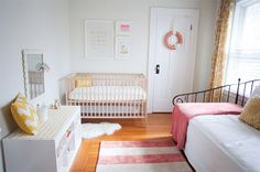 Claire Photography. Amazing ways to style the $99 IKEA cot.