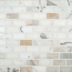 Order Cabot Marble Mosaic - Carrara Marble Series Calacatta Gold / / Polished, delivered right to your door. Marble Subway Tiles, Marble Mosaic, Stone Mosaic, Mosaic Tiles, Mosaic Backsplash, Mosaics, Copper Backsplash, Glass Tiles, Tiling