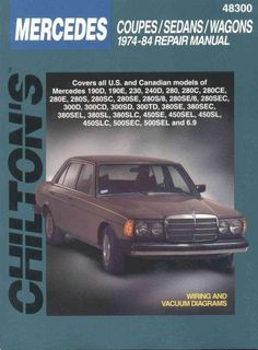 Star service cds and dvds mercedes repair manuals pinterest chiltons mercedes coupessedanswagons 1974 84 repair manual fandeluxe Choice Image