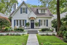 View 1 photos for 699 Cooledge Ave Ne, Atlanta, GA 30306 a 5 bed, 5 bath, Sq. Cottage House Plans, Cottage Homes, Style At Home, Dream House Exterior, House Exteriors, Cute House, House Goals, House Colors, Curb Appeal